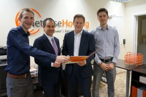 Grant Shapps and Paul Scully visit Netwise Hosting South