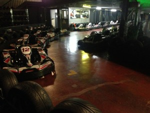 Our build team members were treated to go karting this week