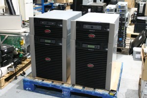 Our core network infrastructure UPS systems have finished being built, with a unit for both the A and B side