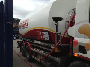 Speedy Fuels delivery - generators now ready for commissioning