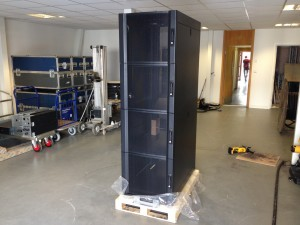 An exclusive look at our custom made APC quarter rack enclosures