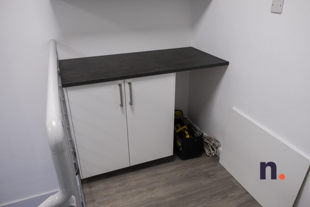 Kitchenette Floor Cabinets