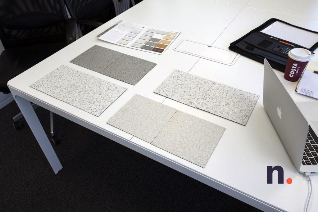 Floor Tile Swatches